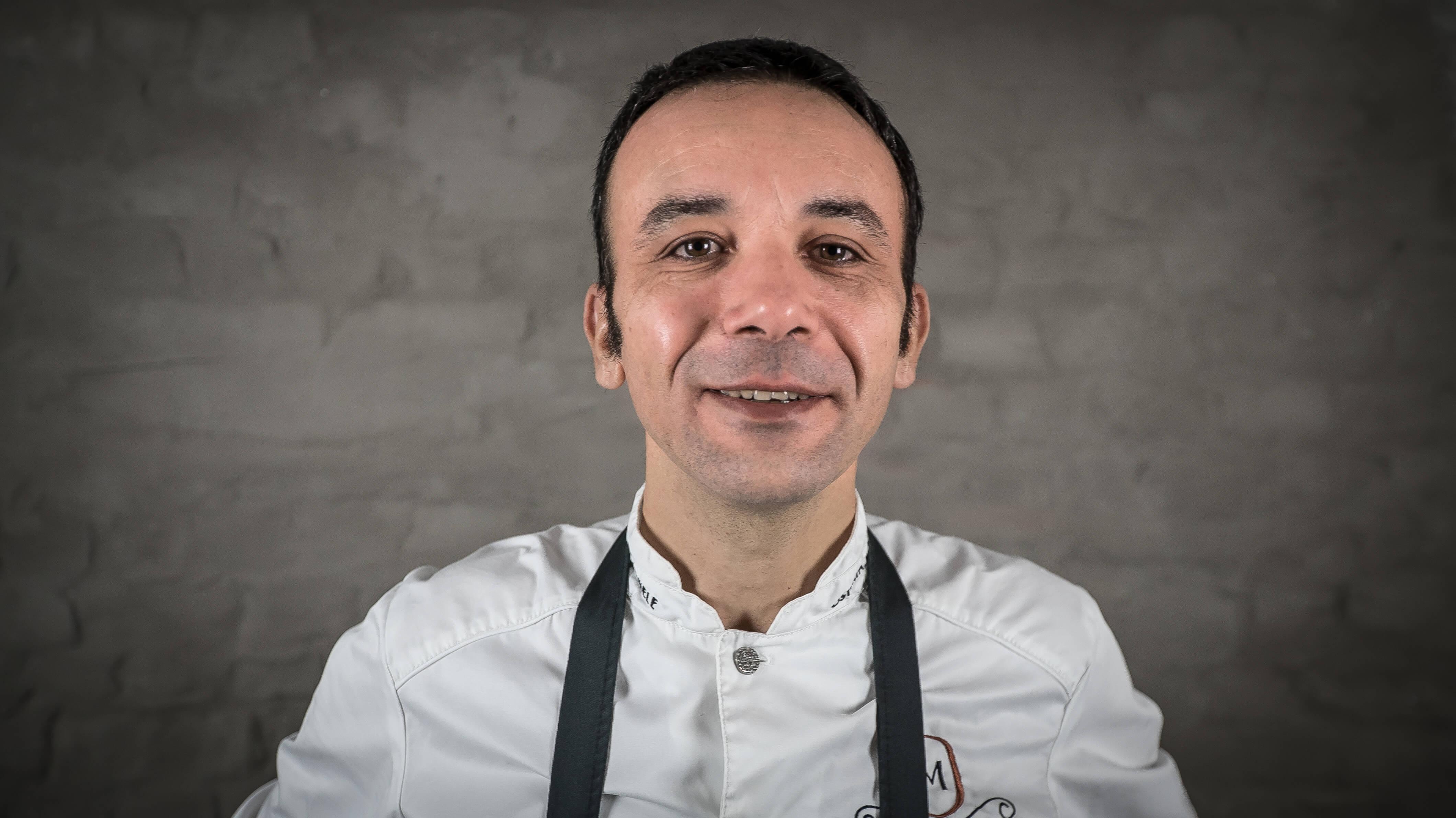 Foto van chef Roberto Di Domenico van Osteria Michele Leuven