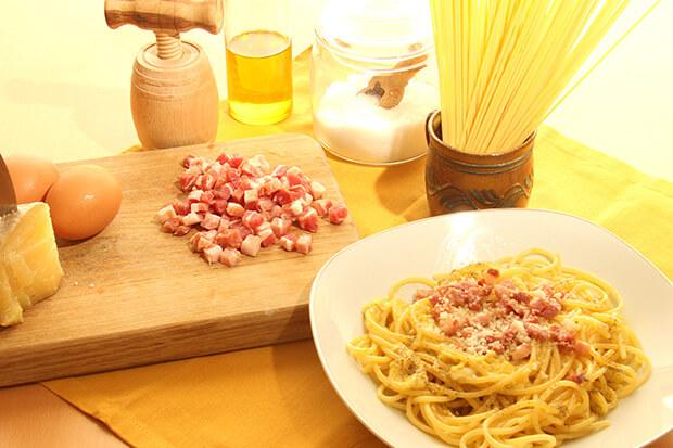 Pasta Carbonara: recept