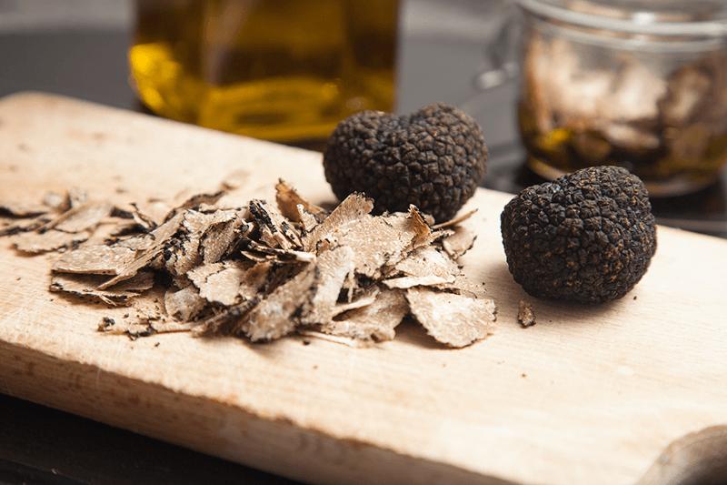 Koken met truffel