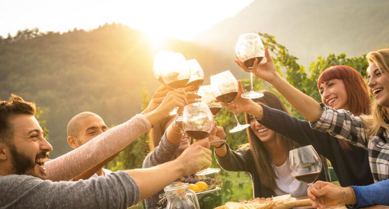 Waarom wijn drinken goed voor je is
